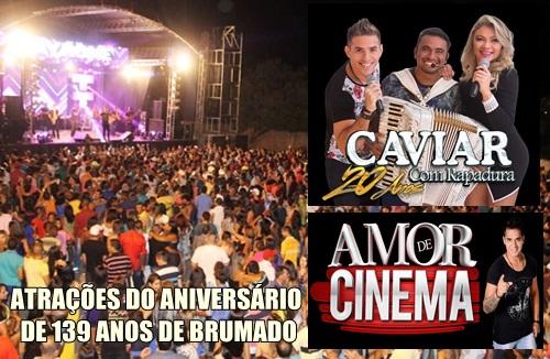 ab30e61ff Brumado: Prefeitura confirma atrações em seu aniversário — Brumado ...