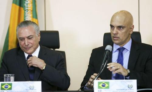 Depois de várias consultas realizadas nesse fim de semana, Temer indicou o ministro para o STF. Foto: Marcelo Camargo/ Agência Brasil.
