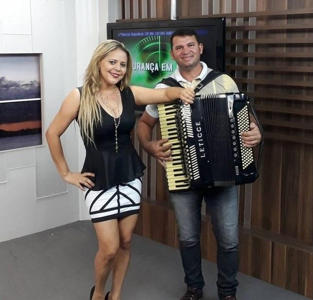 Cantora participou de gravação em emissora de Aracaju horas antes do acidente (Foto: Reprodução/Instagram )